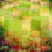 Old, grunge background texture. With different color patterns: yellow, brown, green, purple