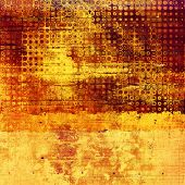 Vintage textured background. With different color patterns: yellow, brown, orange