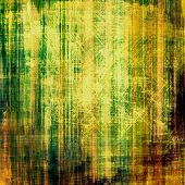 Old Texture. With different color patterns: yellow, brown, green