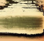 Old antique texture (for background). With different color patterns: yellow, brown, green, gray, black