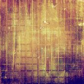 Old background or texture. With different color patterns: yellow, brown, purple (violet), gray