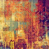 Grunge background or texture for your design. With different color patterns: yellow, brown, red, orange, purple (violet), gray