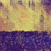 Art grunge vintage textured background. With different color patterns: yellow, brown, blue, gray