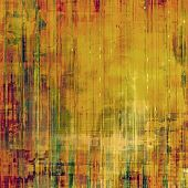 Grunge background or texture for your design. With different color patterns: yellow, brown, orange, green
