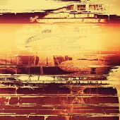 Grunge texture, distressed background. With different color patterns: yellow, brown, orange