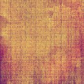Textured old pattern as background. With different color patterns: yellow, brown, red, orange, purple (violet), gray