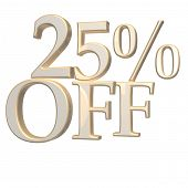inscription 25 percent off