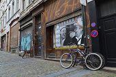 Streetart In Brussels, Belgium