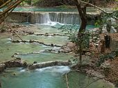 Wang Kan Lueang waterval
