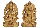foto of lakshmi  - Figurines of Goddess Lakshmi and Lord Ganesha - JPG