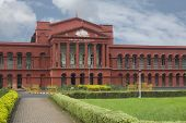 pic of karnataka  - Facade of a courthouse - JPG
