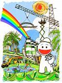 cartoon engineering save world