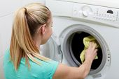 picture of laundry  - people - JPG