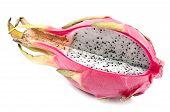 pic of dragon fruit  - Dragon Fruit on white background - JPG