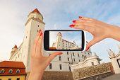 Постер, плакат: Bratislava Castle Tourism