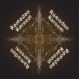 image of ramadan mubarak card  - Ramadan Kareem Background card - JPG
