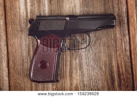Gun on the
