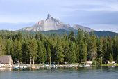 Mt. Thielsen At Diamond Lake