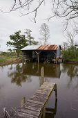 Boatshed On Muddy Bayou