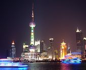 Night View In Shanghai