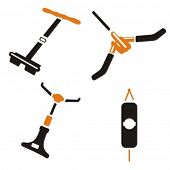 image of weight-lifting  - Fitness Vector Icons Series - JPG