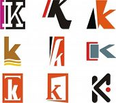 Alphabetical Logo Design Concepts. Letter K. Check my portfolio for more of this series.