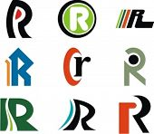 Alphabetical Logo Design Concepts. Letter R. Check my portfolio for more of this series.