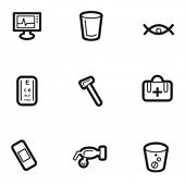 Exclusive Series of Abstract Icons. Check my portfolio for much more of this series as well as thousands of similar and other great vector items.