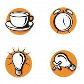 Série exclusiva dos ícones da Web. Confira meu portfólio para muito mais desta série, assim como milhares