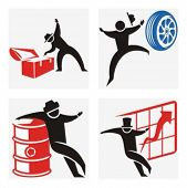 Business concept icons. Check my portfolio for much more of this series as well as thousands of simi