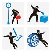 Business concept icons. Check my portfolio for much more of this series as well as thousands of similar and other great vector items.