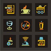 Hotel and tourism icons set. Check my portfolio for much more of this series as well as thousands of