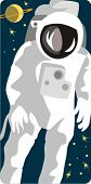 Spaceman vector illustration series. Check my portfolio for much more of this series as well as thou