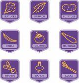 Merchandise Pictogram Series - Vegetables