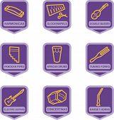 Merchandise Pictogram Series - Music Instruments