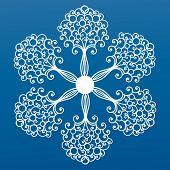 ornate coil snowflake