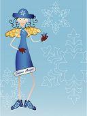 Schnee Engel -