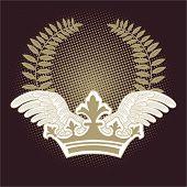 semitono y alas de corona