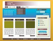 corporate website template