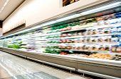 Interior do supermercado