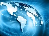 stock photo of internet  - Best Internet Concept of global business from concepts series - JPG