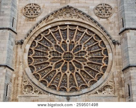 Main Rose Window Of The