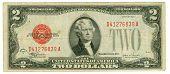 2 Dollar Bill Of The Usa, 1928
