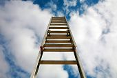 stock photo of reach the stars  - Jacobs Ladder  - JPG