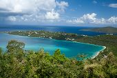 The view of Magens Bay (St.Thomas, U.S.Virgin Islands).