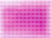 A Faded Vintage Pink Chequered Fabric Background poster