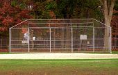 geschlagenen Eierteig batting cage