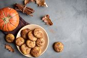 Pumpkin Snickerdoodle Cookies poster