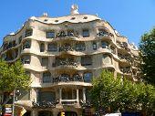 Casa la Pedrera in barcelona