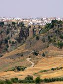 picture of urbanisation  - Puente Nuevo Across the El Tajo Gorge in Ronda - JPG